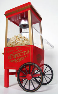 Hot Air Popper Popcorn Maker