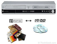 Betamax to HD DVD converter