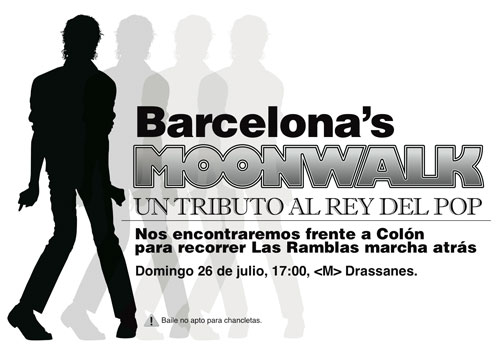 moonwalk barcelona 26 de junio