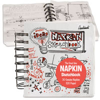 napkinskecthbook