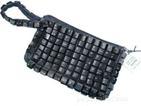 keyboard clutch purse