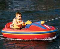 water cannon electric boat