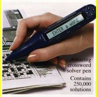 Crossword Codeword Pen