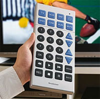 supersized tv remote