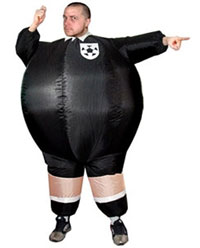 Inflatable Football Referee Costume
