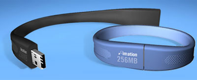 imation flash wristband