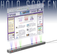 holo-screen