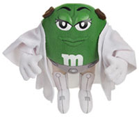 Leia M&Ms Plush Buddy