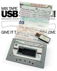 MIX TAPE USB DRIVE