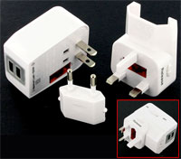 travel adaptor 2 usb