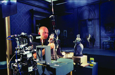 corpse bride making off