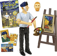 vicent van gogh action figure