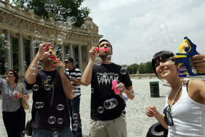 bubble mob madrid