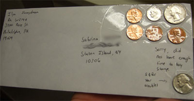 mail experiment