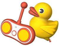 RC Rubber duck