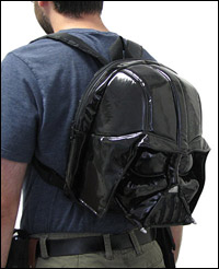 Darth Vader Plush Backpack